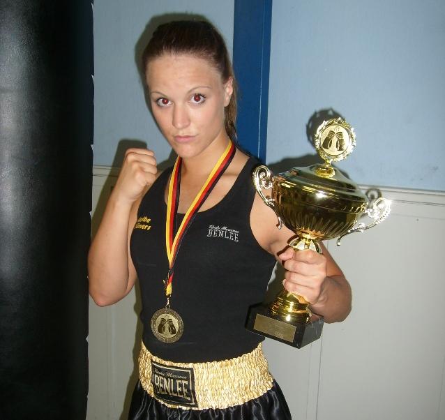 Share In Wismar erkämpfte sich Maike Klüners in der Klasse bis 57 Kilo ihren ersten...