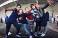 """Sie ist Breakdancerin, tanzt in einer eigenen Crew und stellt Breakdance-Events auf die Beine: Frieda Frost (27) aus Köln erzählt im XsportSisters-Interview von """"Dirty Mamas"""", Mädchen-Crews und erklärt, warum es sich lohnt, beim Battle """"Cologne Circle"""" am 12. November 2011 vorbeizuschauen."""