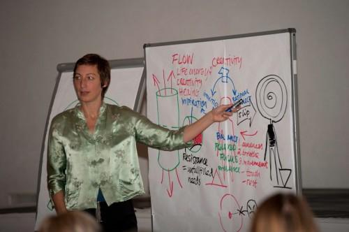 Anna Linda Hultström, die Flow-Spezialistin aus Schweden