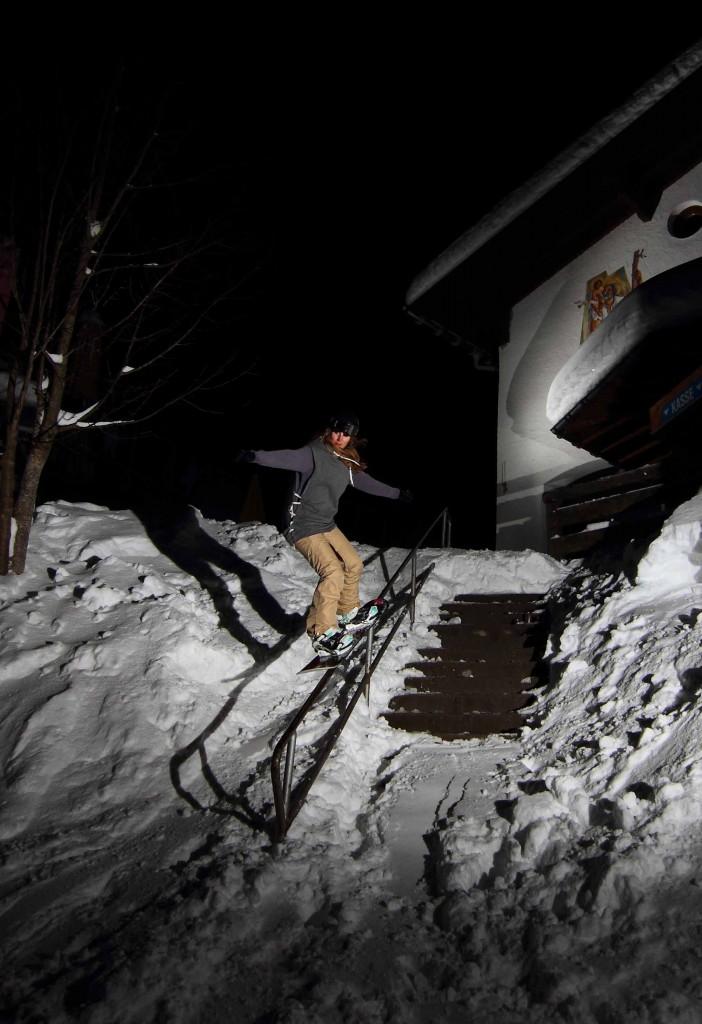 5050 an einem Streetrail im Kleinwalsertal / Photo: Felix Pfleiderer