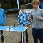 Iriedaily sponsorten nich nur den Skatepark, sondern sorgten auch für Unterhaltung parallel zum Contest - plus Zuckerwatte.