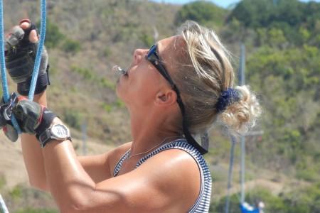 """Hochseeseglerin Mareike Guhr unterbricht ihre Weltreise, um Gäste der boot bei Törns zu beraten """"Ich..."""